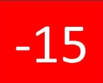 15 below