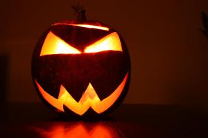 Halloween in Anoka: Carved Pumpkin