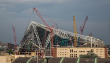 US BANK Stadium In Progress